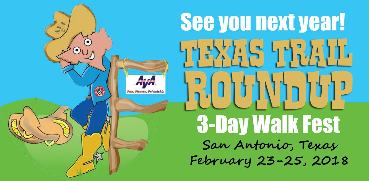Saddle Up! For the Texas Trail Roundup. San Antonio, Texas, Febriary 24-26, 2017