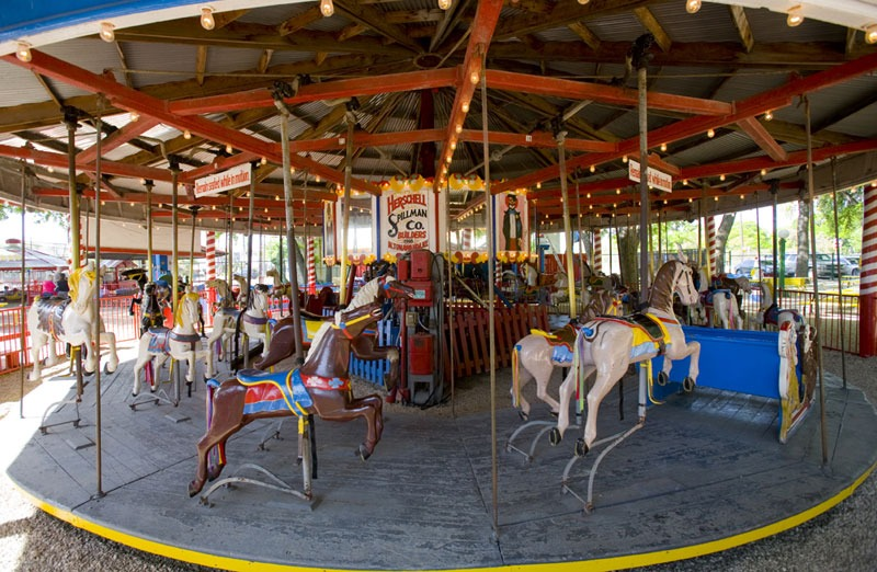 The Oldest Amusement Park in the USA