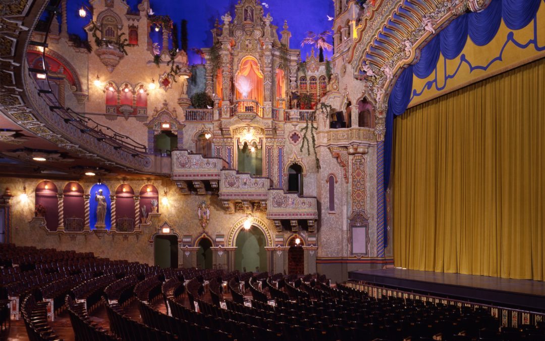 Golden Age of Movie Theaters: the Majestic & the Aztec