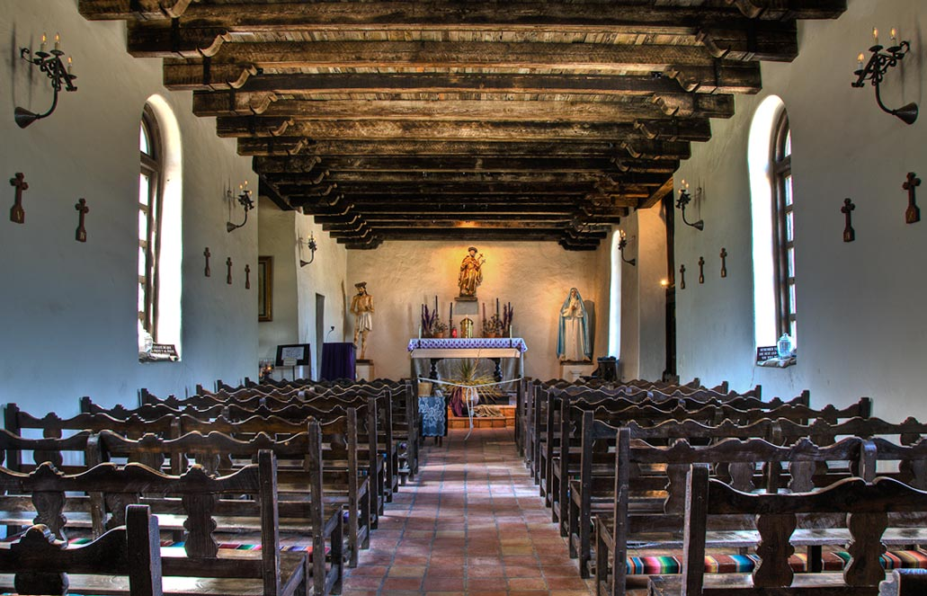 Mission Espada Interior