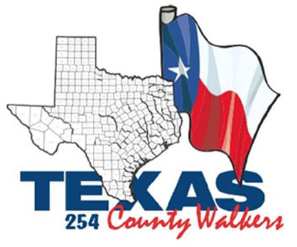 254 Texas Counties: Walk 'em All!