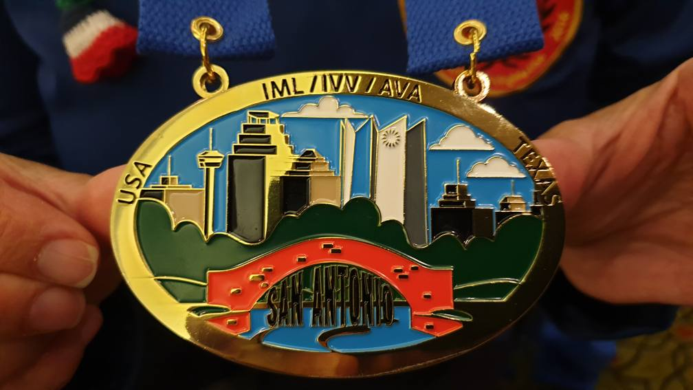 Texas Trail Roundup Medal Revealed