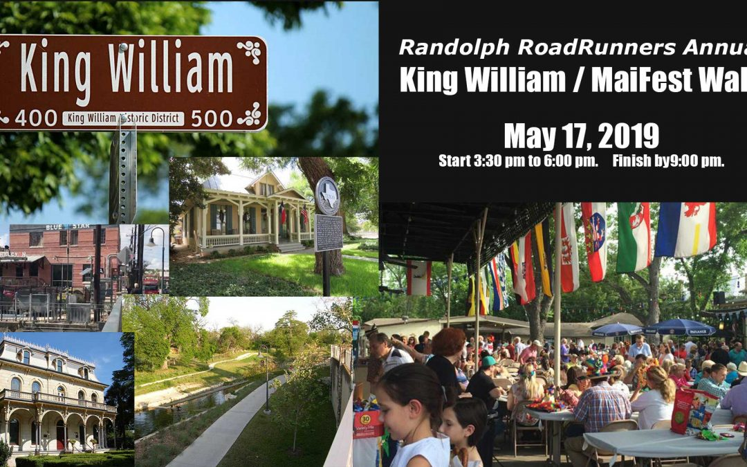 May 17: King William / MaiFest Walk