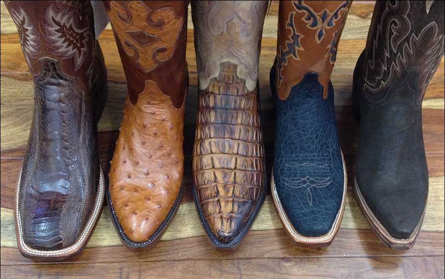 Walk Like a Texan: Cowboy Boots