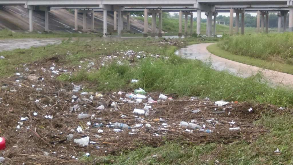 Cleaning the San Antonio River