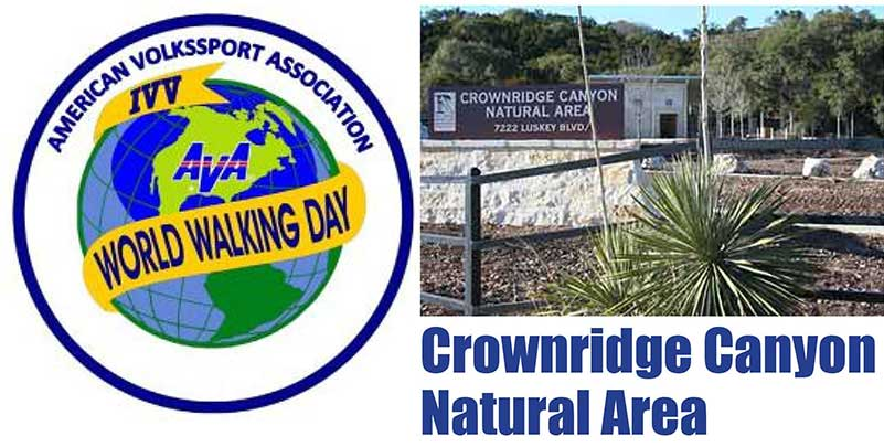 May 8: World Walking Day at Crownridge Canyon Natural Area